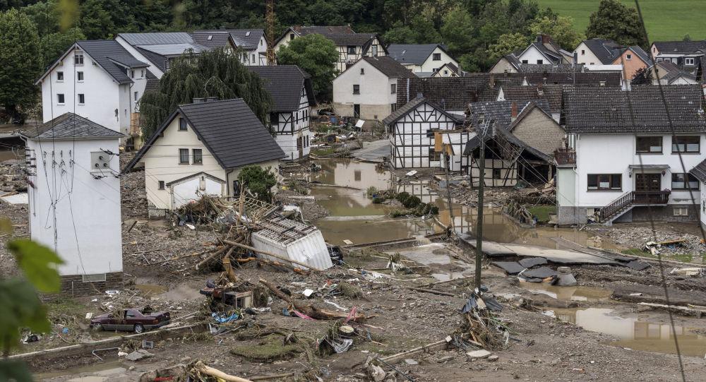 جان باختن دست کم 164 نفر بر اثر سیل در آلمان