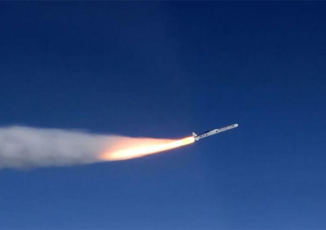 پرتاب آزمایشی موشک از غزه