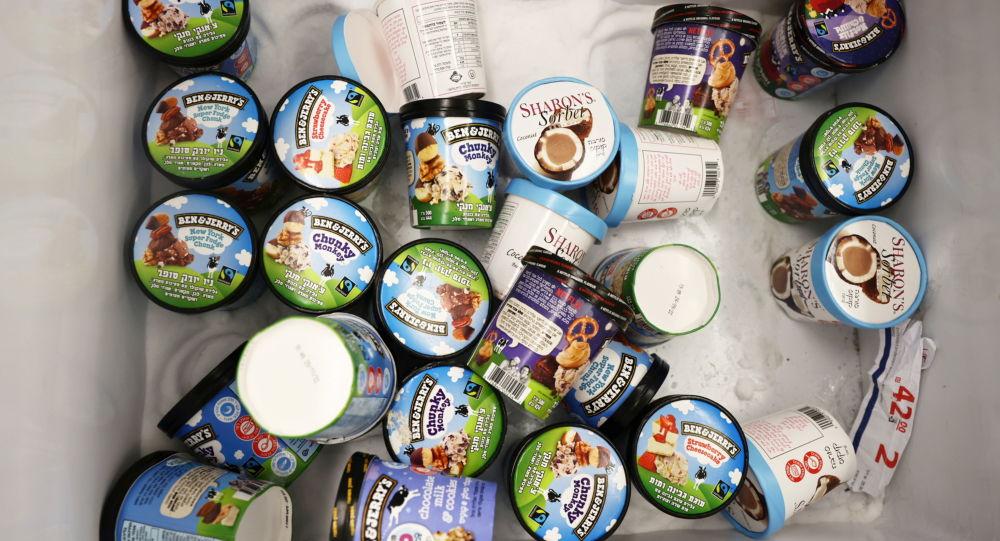 شرکت بستنی سازی بن اند جری اسرائیل را تحریم کرد