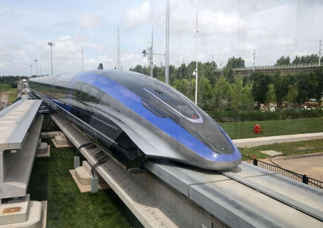چین سریعترین قطار جهان را ساخت + ویدئو