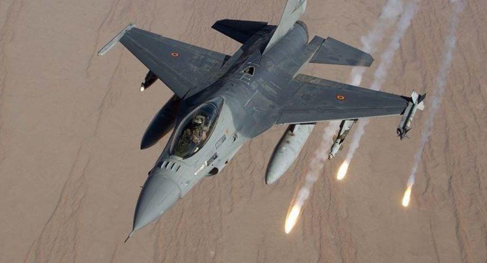 حمله هوایی امریکا در افغانستان