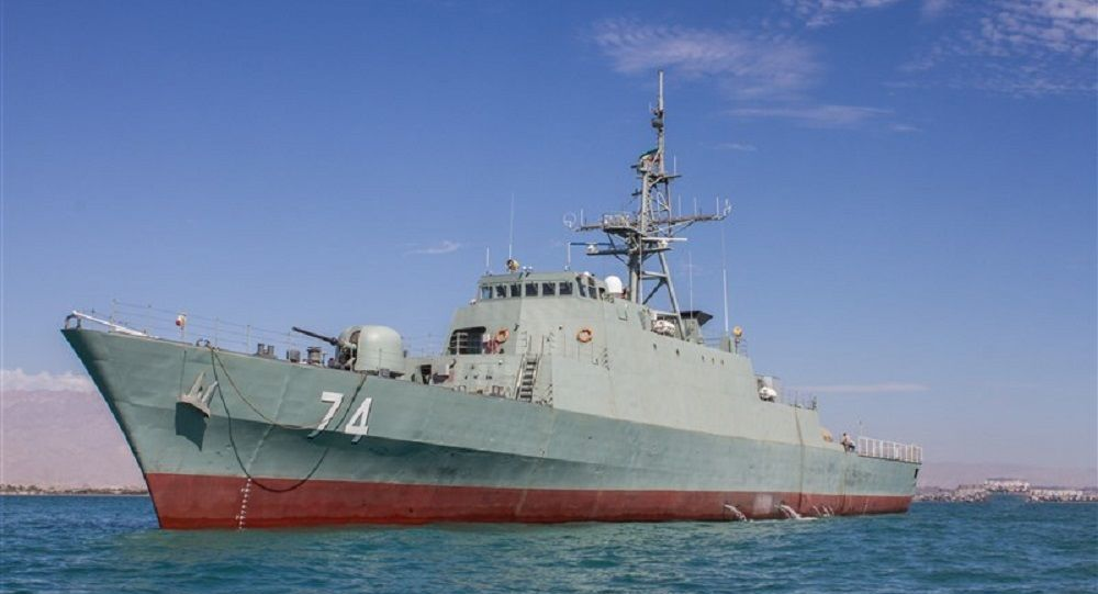 ناوچه نیروی دریایی ایران وارد سنپترزبورگ شد