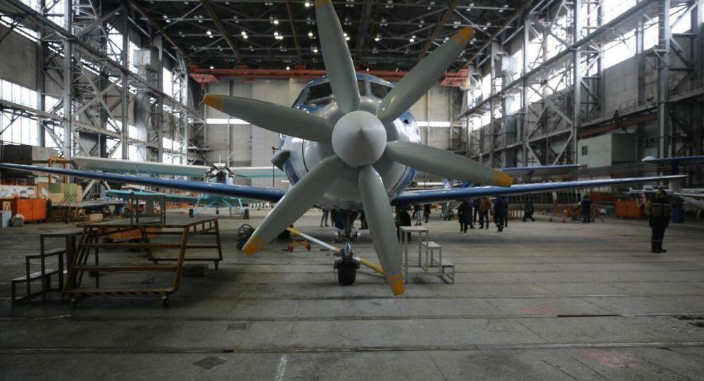 اولین پرواز هواپیما با موتور الکتریکی در روسیه