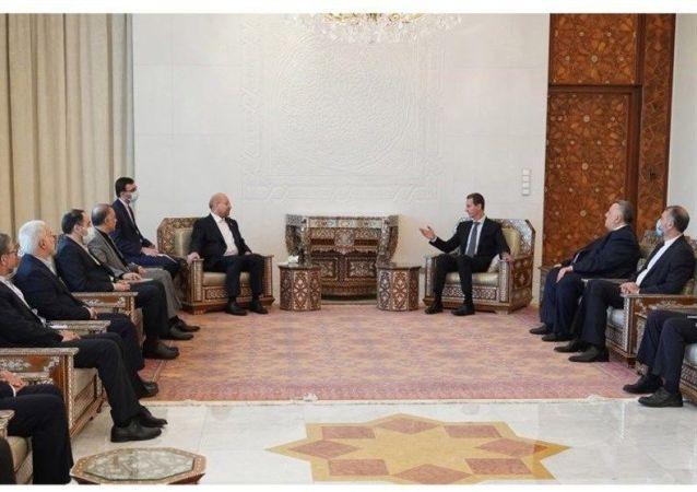 اسد: همکاری بین سوریه و ایران تا آزادی کامل سوریه ادامه دارد