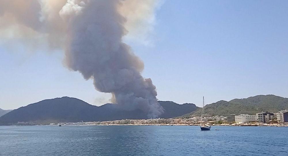 رسانه های ترکیه نام عاملان آتش سوزی جنگل ها را افشا کردند