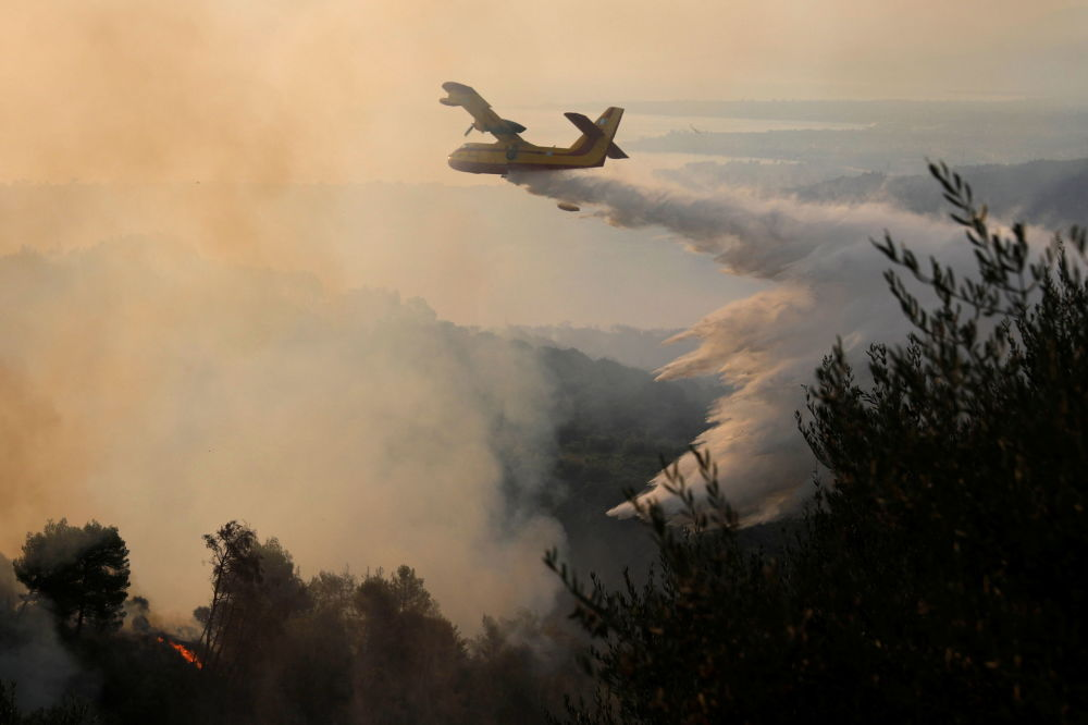 یونان در کام آتش