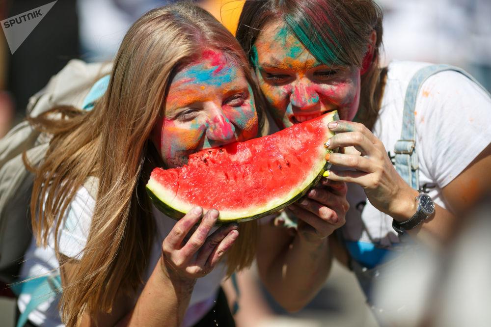 روز جهانی هندوانه روسیه