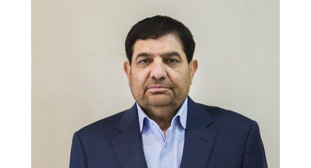 اولین توییت معاون اول رییس جمهور جدید ایران