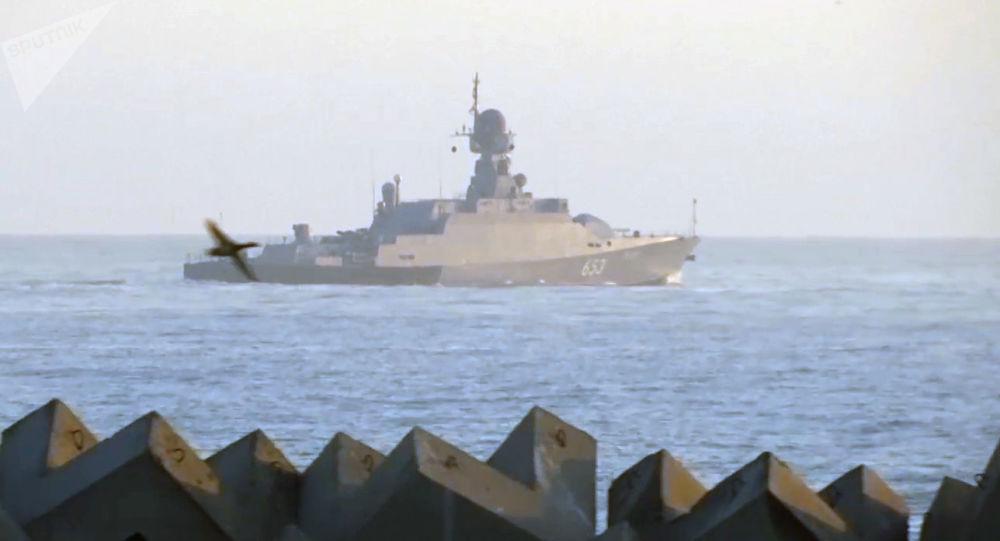 اعزام دو کشتی روسی به ایران برای شرکت در مسابقات بازی های بین المللی ارتش ها ۲۰۲۱