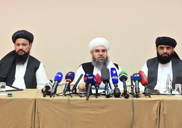 برگزاری مجلس پذیرایی طالبان از دیپلمات های خارجی در کابل + ویدئو