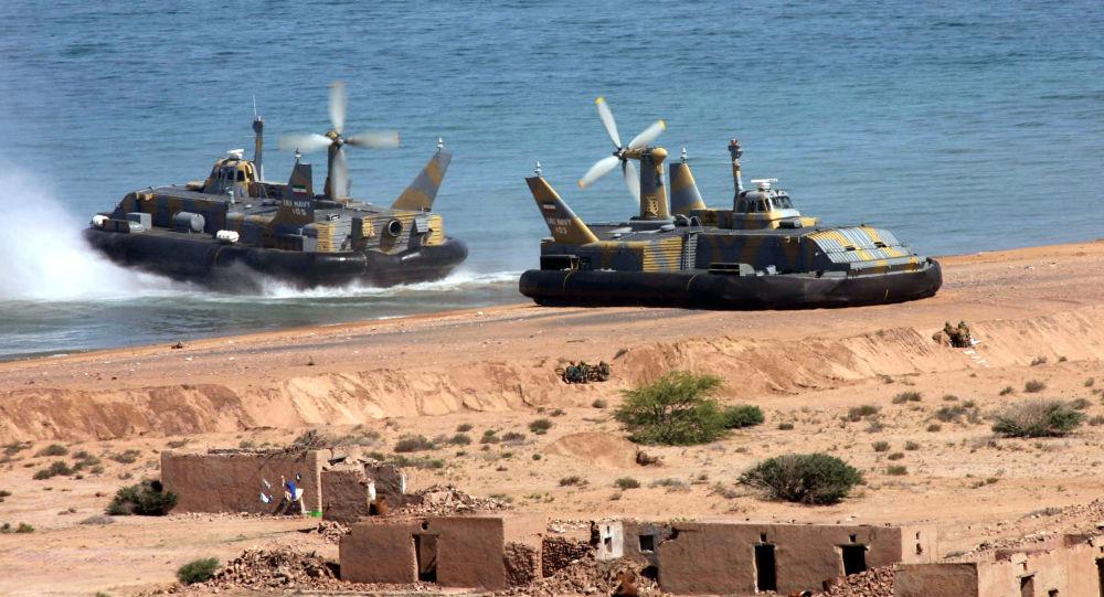 رزمایش در دریای عمان