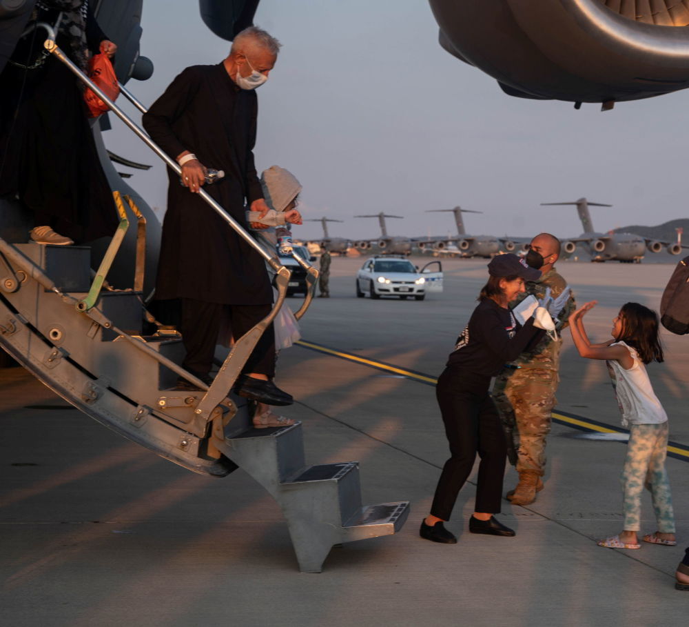 ورود پناهجویان افغانی به کشورهای جهان آلمان