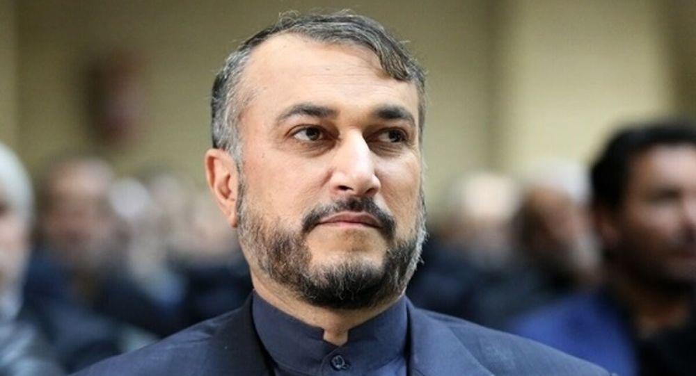 حسین امیرعبداللهیان وزیر امور خارجه