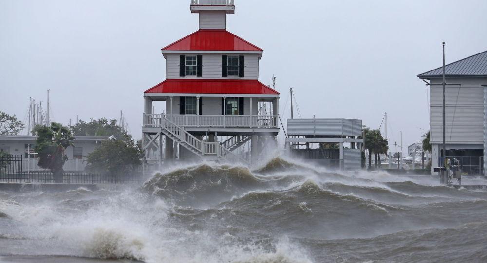 طوفان «آیدا» در لوئیزیانا