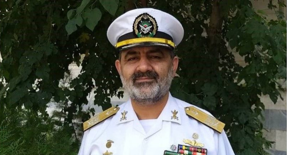 امیر شهرام ایرانی فرمانده نیروی دریایی ارتش