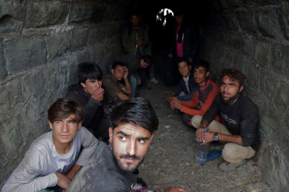 پناهجویان افغان پس از ورود غیر قانونی به ترکیه از ایران