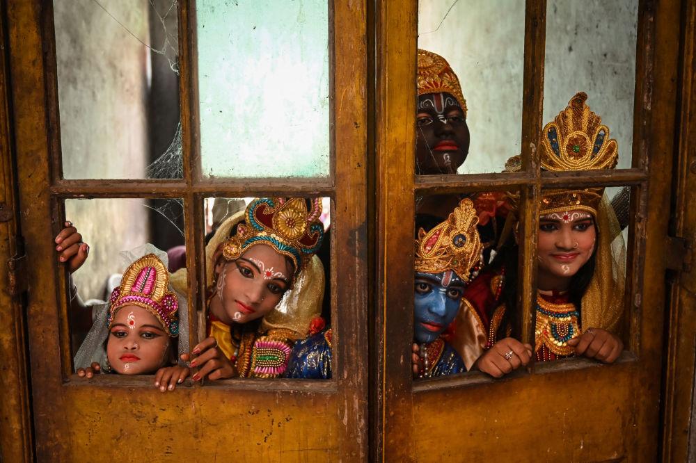 رویدادهای هفته به روایت تصویر جشنواره «جانماشتامی» هند