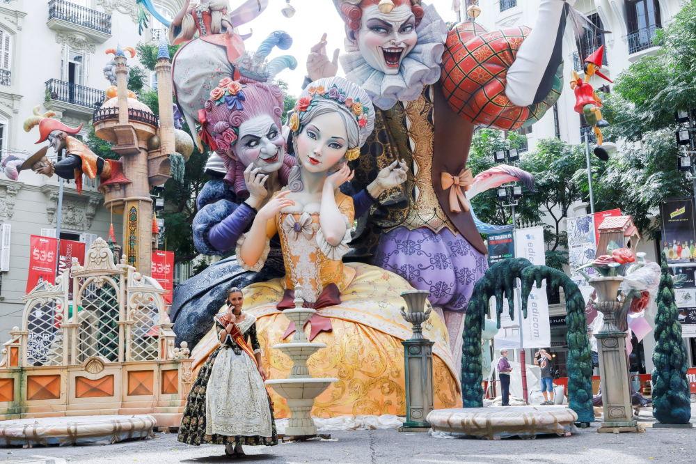 رویدادهای هفته به روایت تصویر فستیوال «فالاس» در اسپانیا