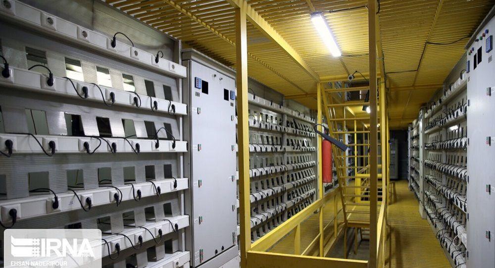 مرکز استخراج رمز ارز