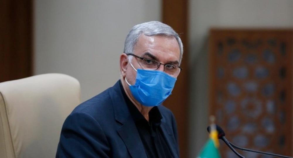 بهرام عین اللهی وزیر بهداشت، درمان و آموزش پزشکی ایران