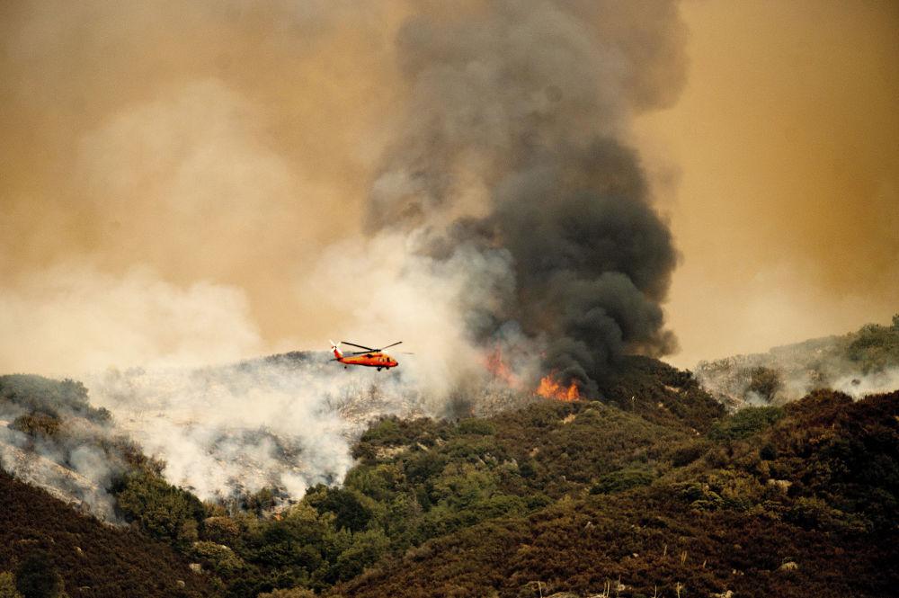 آتش سوزی در ایالت کالیفرنیا