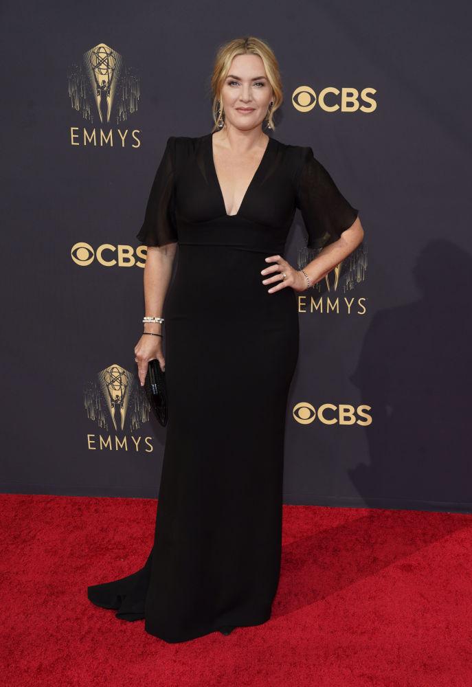 هنرپیشه کیت وینسلت در 73مین مراسم  امی2021 در لس آنجلس