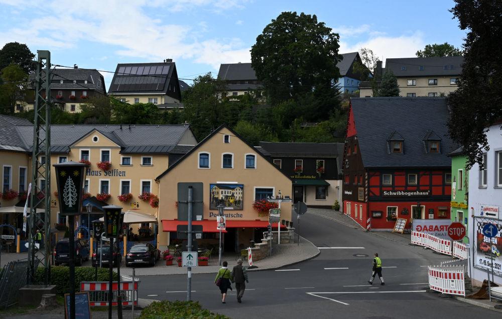 شهر زایفن در شرق آلمان