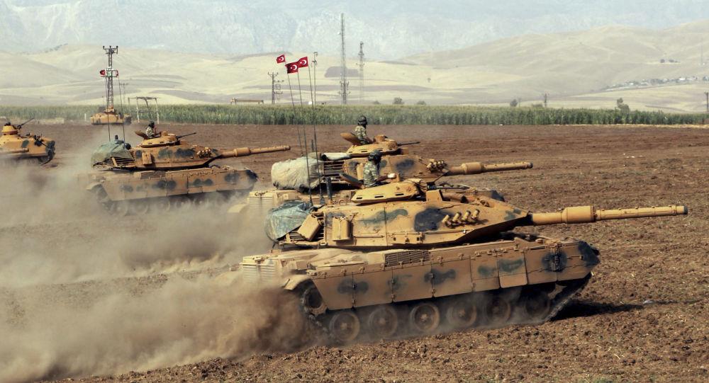 وقوع چند انفجار در نزدیکی پایگاه نظامیان ترکیه در عراق