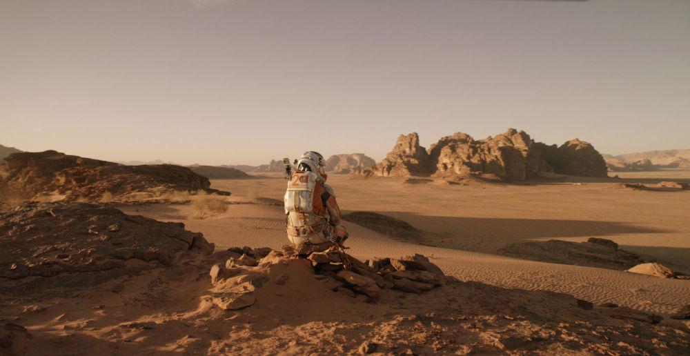 صحنه ای از فیلم «مریخی»