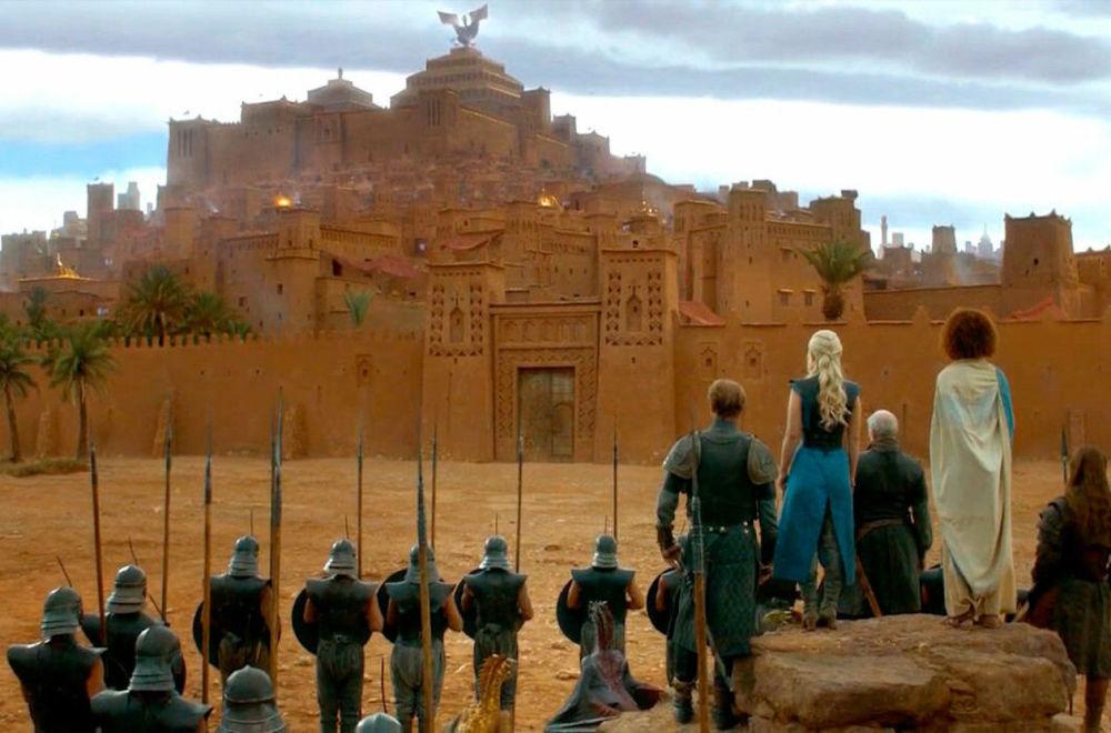 صحنه ای از فیلم «بازی تاج و تخت»