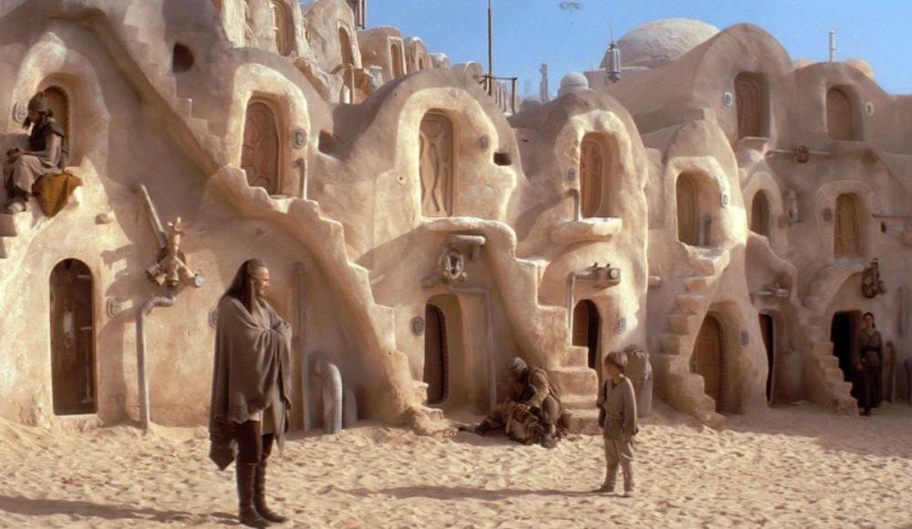 صحنه ای از فیلم «جنگ ستارگان»