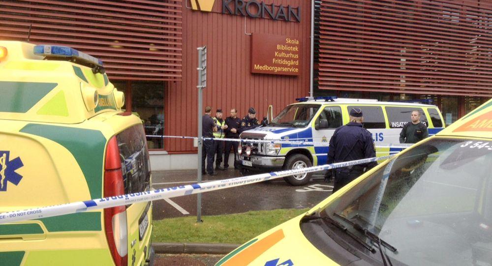 انفجار مهیب در ساختمان مسکونی در گوتنبرگ سوئد + تصاویر