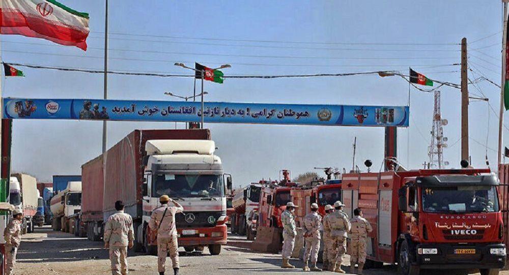 تجارت افغانستان با ایران به صورت عادی ادامه دارد