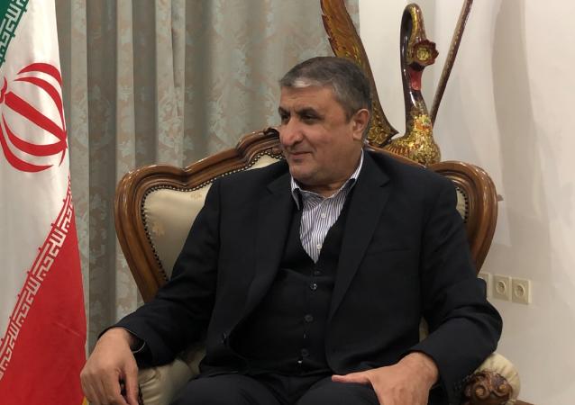 گفتگوی اختصاصی رئیس سازمان انرژی اتمی ایران با خبرگزاری اسپوتنیک
