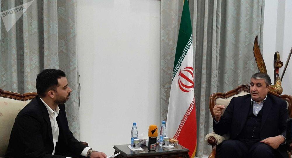 محمد اسلامی، معاون رئیس جمهور و رئیس سازمان انرژی اتمی ایران