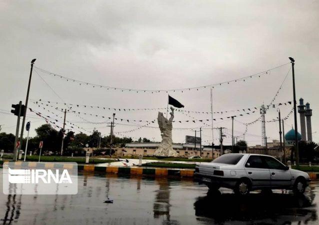 توفان حارهای شاهین به چابهار رسید