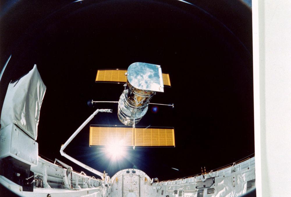 رویدادهای فضانوردی جهان تلسکوپ هابل