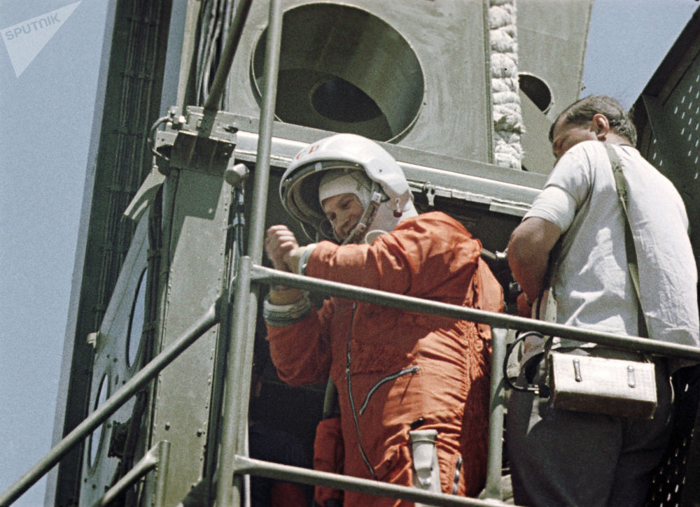 رویدادهای فضانوردی جهان والنتینا ترشکووا فضانورد روسیه