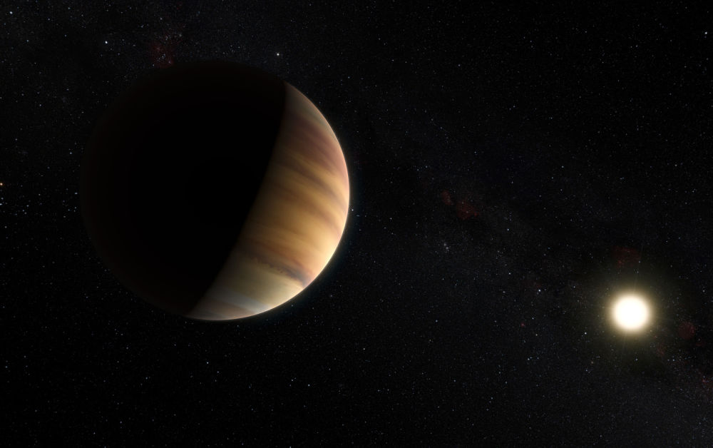 رویدادهای فضانوردی جهان نقاشی  Exoplanet 51 Pegasi