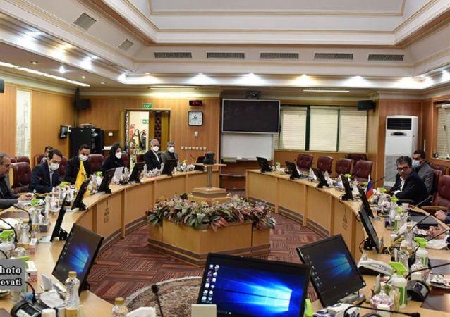 دیدار شرکت های دولتی نفت و گاز روسیه با شرکت ملی گاز ایران