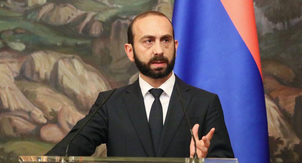 آرارات میرزویان وزیر امور خارجه ارمنستان