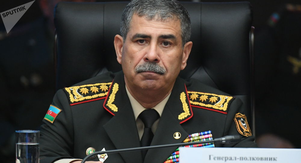 ژنرال ذاکر حسن اُف وزیر دفاع آذربایجان