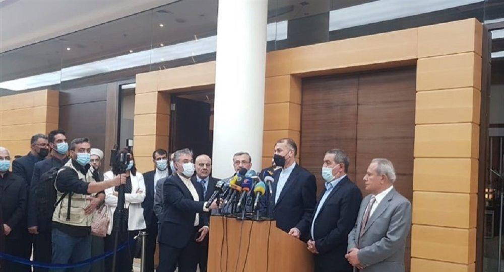 حسین امیرعبداللهیان وزیر خارجه جمهوری اسلامی ایران
