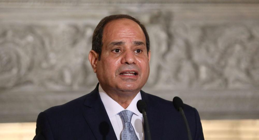 رهبر مصر : میخواهیم تشکیلات خودگردان فلسطین  به غزه بازگردد