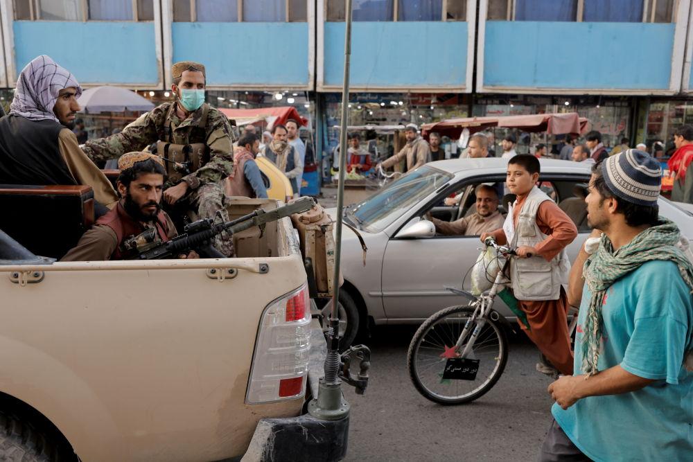 نیروهای طالبان (ممنوغه در روسیه) در کابل