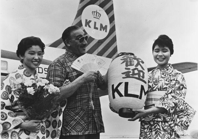 شرکت هواپیمایی « ک.ال.ام» قدیمی ترین شرکت هواپیمایی جهان پرواز ماکس تایلور به توکیو