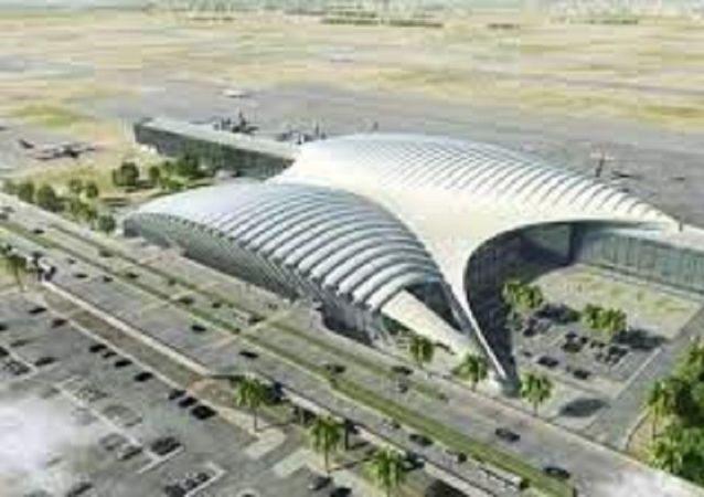 فرودگاه ملک عبدالله در جازان  واقع در جنوب عربستان