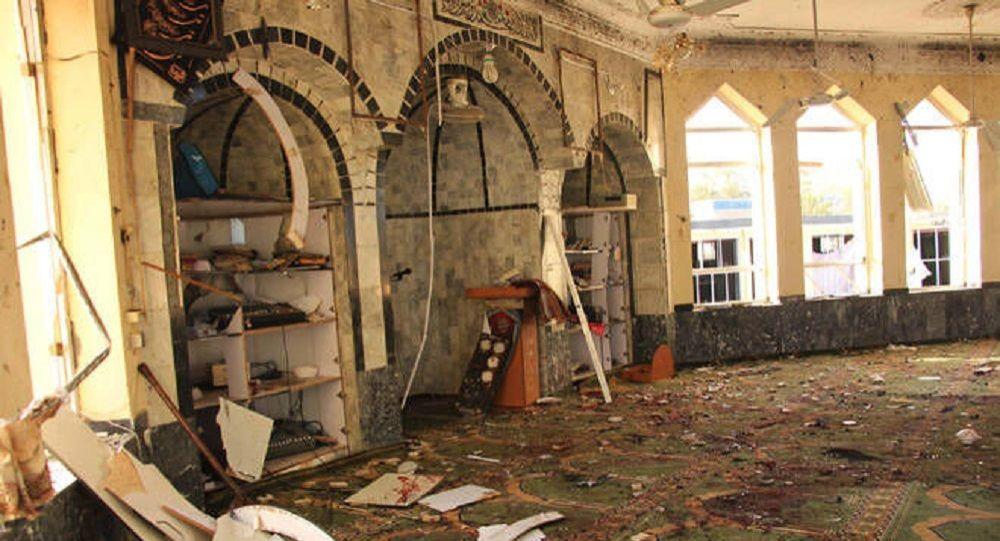 حمله تروریستی به مسجد شیعیان در افغانستان