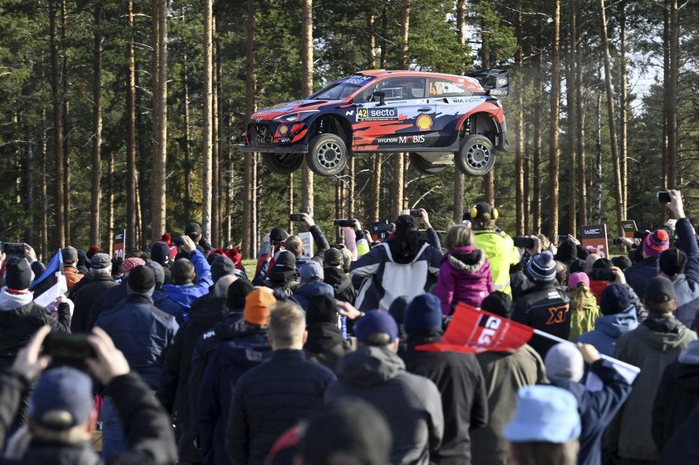 رویدادهای هفته به روایت تصویر رالی فنلاند