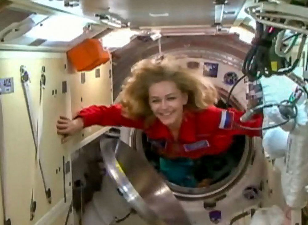رویدادهای هفته به روایت تصویر پرواز یولیا پرسیلد، هنرپیشه روسیه به ایستگاه بین المللی فضایی